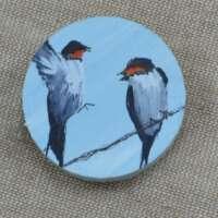 Swallows Brooch thumbnail