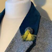 Harris Tweed Lapel Pin thumbnail