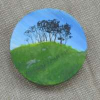 Trees on Hill Brooch thumbnail