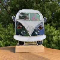 VW Camper Tealight (Blue) thumbnail