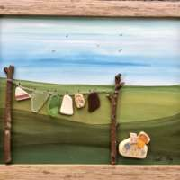 Washing Line in the Countryside thumbnail