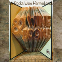 Wine and Books Book Sculpture thumbnail