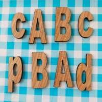 Decorative Wooden Letters thumbnail
