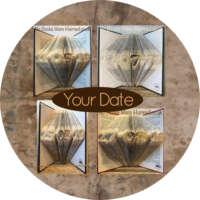 Personalised Date Book Sculpture thumbnail